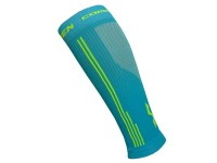 Kompresní návleky HAVEN Compressive Calf Guard EvoTec blue/yellow - HIGH COMPRESSION