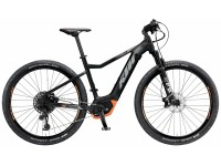 Elektrokolo KTM MACINA RACE 292 12 PT-CX5K4 2019 Black matt (grey+orange)