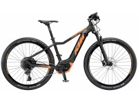 Elektrokolo KTM MACINA RACE 293 12 PT-CX5I4 2019 Black matt (orange)