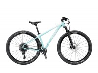 Dámské horské kolo KTM MYROON 29 GLORY 12 2019 Mint (white+black)