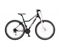 Horské kolo dámské KTM PENNY LANE 27.24 CLASSIC Black matt (white+magenta)