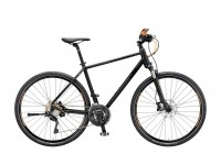 Krosové kolo KTM LIFE 1964 CROSS 2019 Black matt (black+orange glossy)