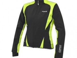 Cyklistická bunda Force X71 Lady softshell