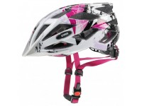 Cyklistická helma UVEX HELMA AIR WING WHITE-PINK