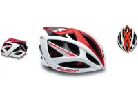 Cyklistická helma Rudy Project AIRSTORM white-red shiny